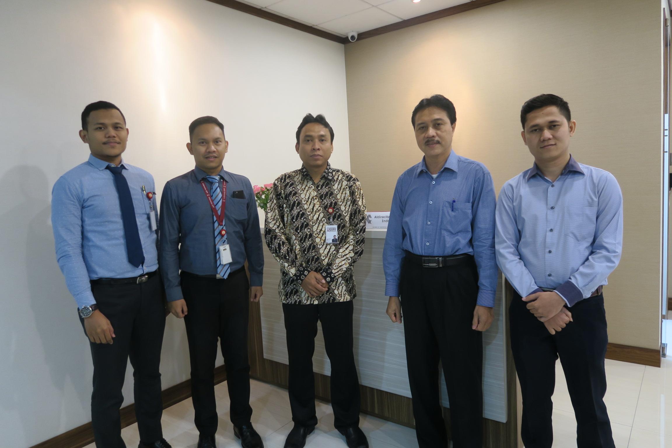 Kunjungan ke Aldiracita Sekuritas Indonesia dalam Rangka Sosialisasi Dana Perlindungan Pemodal