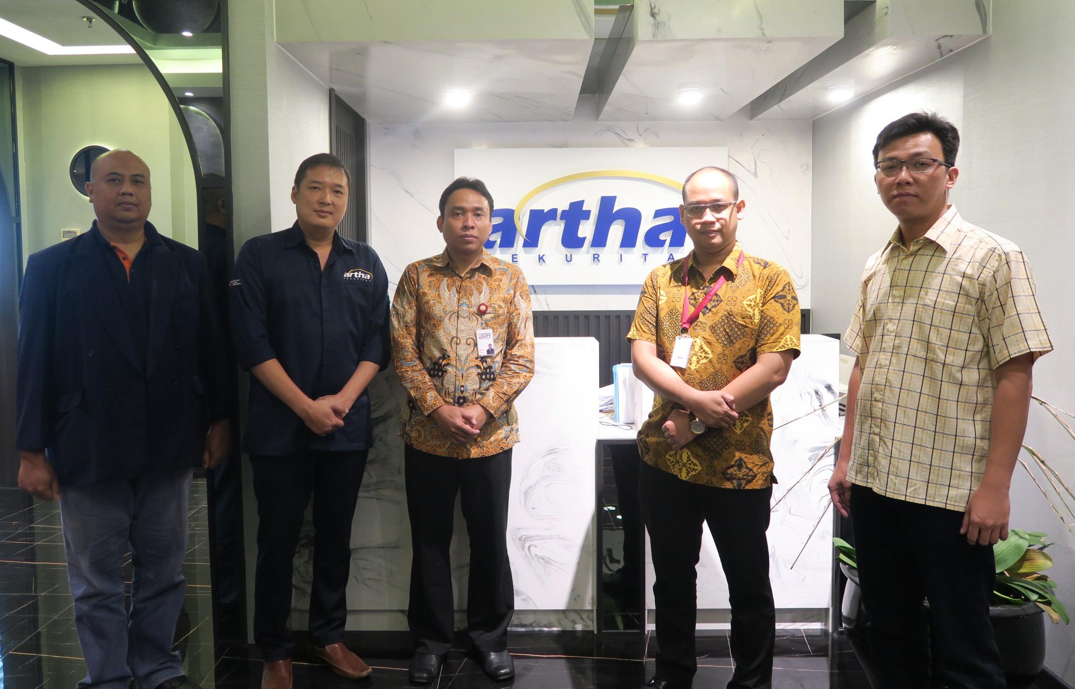Kunjungan ke Artha Sekuritas Indonesia dalam Rangka Sosialisasi Dana Perlindungan Pemodal